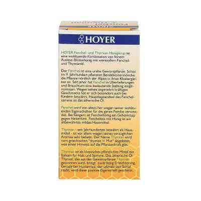 Hoyer syrop z miodem, tymiankiem i koprem