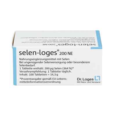 Selen Loges 200 Ne tabletki z selenem