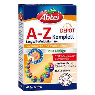 Abtei A-Z witaminy + Ginkgo tabletki  zamów na apo-discounter.pl