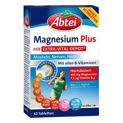 Abtei Magnesium Plus witaminy tabletki