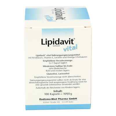Lipidavit Vital Kapseln  zamów na apo-discounter.pl