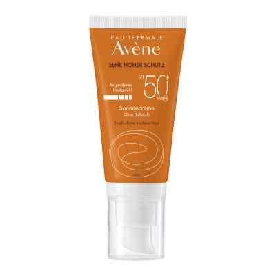 Avene Sunsitive bezzapachowy krem p/słoneczny SPF50+