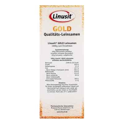 Linusit Gold siemię lniane  zamów na apo-discounter.pl