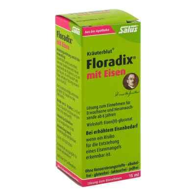 Floradix z żelazem tonik