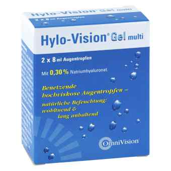 Hylo Vision Gel multi krople do oczu