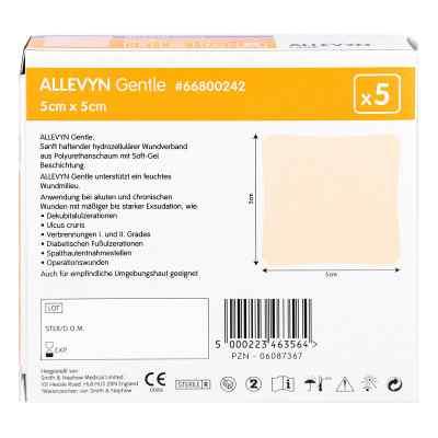 Allevyn Gentle 5x5cm Verband  zamów na apo-discounter.pl