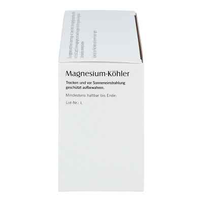 Magnesium Koehler kapsułki  zamów na apo-discounter.pl