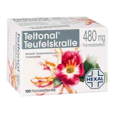 Teltonal Teufelskralle 480 mg Filmtabl.  zamów na apo-discounter.pl