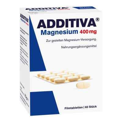 Additiva Magnez 400 mg Tabletki powlekane  zamów na apo-discounter.pl