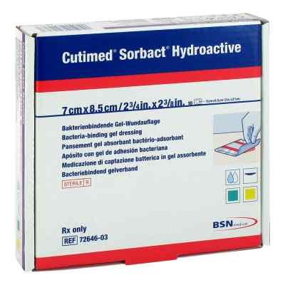 Cutimed Sorbact Hydroactive Kompressen 7x8,5cm  zamów na apo-discounter.pl