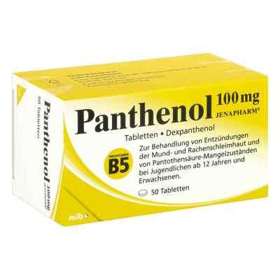 Panthenol 100 mg Jenapharm Tabl.  zamów na apo-discounter.pl