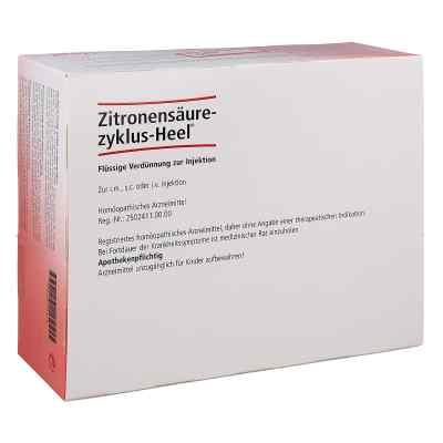Zitronensäurezyklus Heel, ampułki 1,1 ml   zamów na apo-discounter.pl