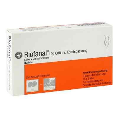 Biofanal Kombip. 25g Salbe + 6 Vag.tbl.  zamów na apo-discounter.pl