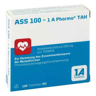ASS 100-1A Pharma TAH, tabletki 100 mg