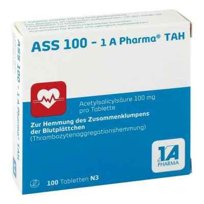 ASS 100-1A Pharma TAH, tabletki 100 mg  zamów na apo-discounter.pl