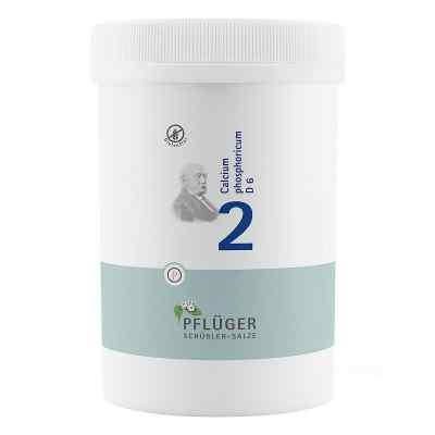 Biochemie Pflueger 2 Calcium phosph.D 6 Tabl.  zamów na apo-discounter.pl