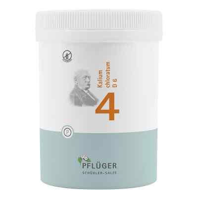 Biochemie Pflüger 4 chlorek potasu D6 tabletki  zamów na apo-discounter.pl