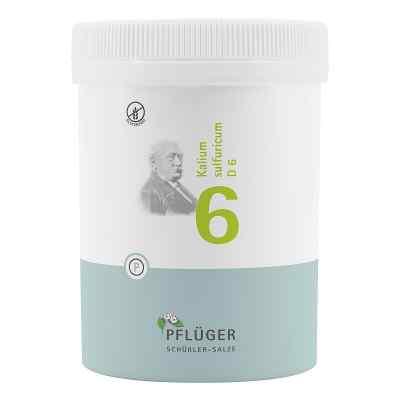 Biochemie Pflueger 6 Kalium sulfuricum D 6 tabletki  zamów na apo-discounter.pl