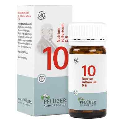 Biochemie Pflueger 10 Natrium sulfur.D 6 Tabl.  zamów na apo-discounter.pl