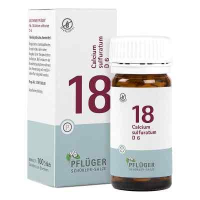 Biochemie Pflueger 18 Calcium sulfurat.D 6 Tabl.
