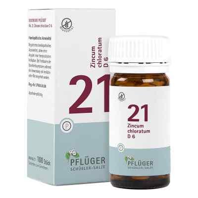 Biochemie Pflueger 21 Zincum chloratum D 6 Tabl.