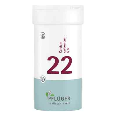 Biochemie Pflueger 22 Calcium carbonic.D 6 Tabl.  zamów na apo-discounter.pl