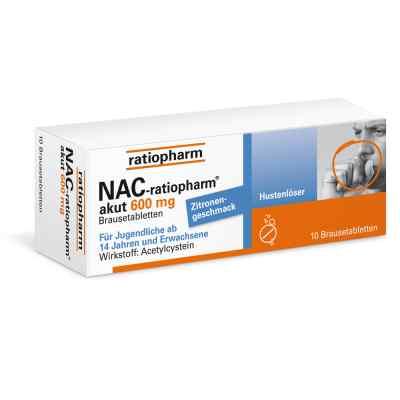 NAC ratiopharm akut 600mg lek na kaszel w tabletkach  zamów na apo-discounter.pl
