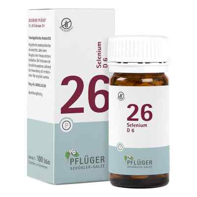 Biochemie Pflueger 26 Selenium D 6 Tabl.