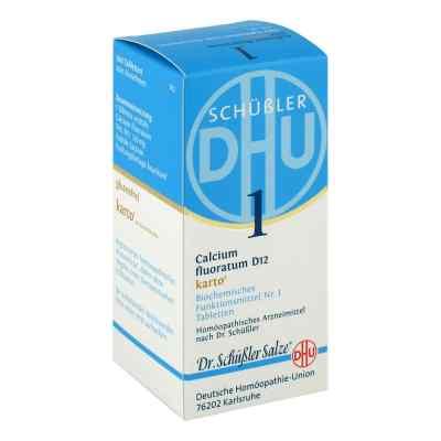 Biochemie Dhu 1 Calcium fluorat.D 12 Karto Tabl.