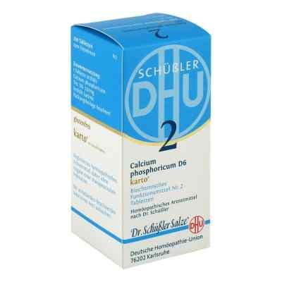 Biochemie Dhu 2 Calcium phosphor.D 6 Karto Tabl.