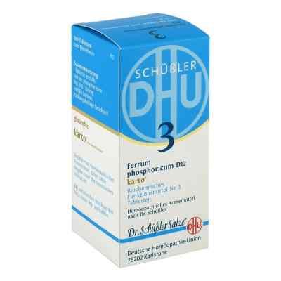 Biochemie DHU 3 fosforan żelaza D 12 Karto tabletki  zamów na apo-discounter.pl