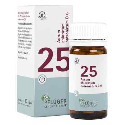 Biochemie Pflueger 25 Aurum chlor.natr.D 6 Tabl.