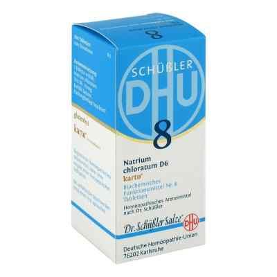 Biochemie Dhu 8 Natrium chlor. D 6 Karto Tabl.  zamów na apo-discounter.pl