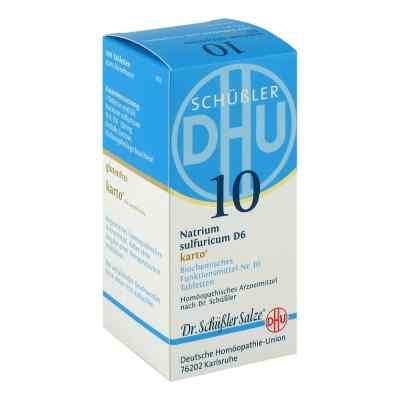 Biochemie Dhu 10 Natrium sulfur.D 6 Karto Tabl.