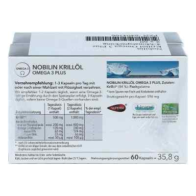 Nobilin Krilloel Omega 3 Plus Kapseln  zamów na apo-discounter.pl