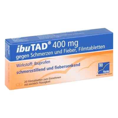 Ibutad 400 mg gg. Schmerzen u.Fieber Filmtabl.  zamów na apo-discounter.pl