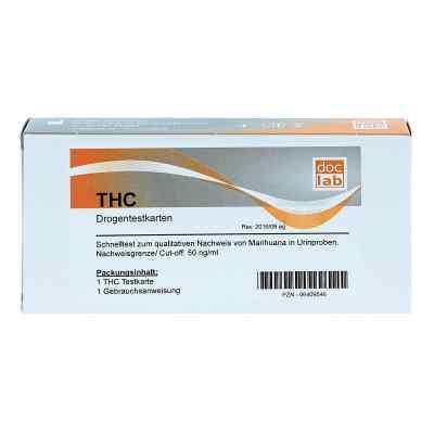Drogentest Thc Marihuana Testkarten  zamów na apo-discounter.pl