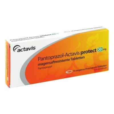 Pantoprazol Actavis protect 20 mg magens.r.Tabl.