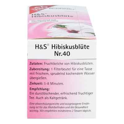 H&S herbata z kwiatu hibiskusa saszetki  zamów na apo-discounter.pl