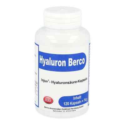 Hyaluron Berco Injuv kwas hialuronowy kapsułki
