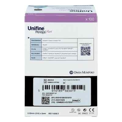 Unifine Pentips plus 5 mm 31 G Kanuele  zamów na apo-discounter.pl