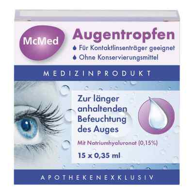 Mcmed Augentropfen Einzeldosispip.