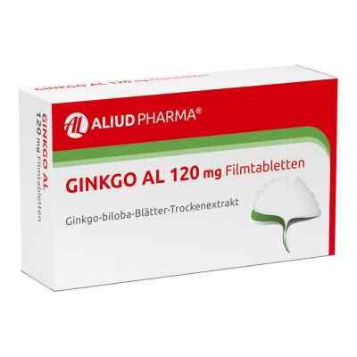 Ginkgo Al 120 mg Filmtabletten  zamów na apo-discounter.pl