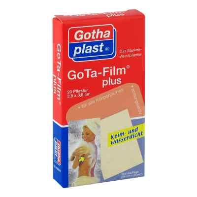 Gota Film plus 3,8x3,8cm Pflaster  zamów na apo-discounter.pl