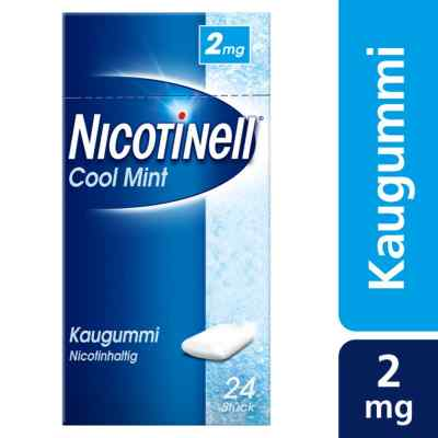 Nicotinell Kaugummi Cool Mint 2 mg  zamów na apo-discounter.pl