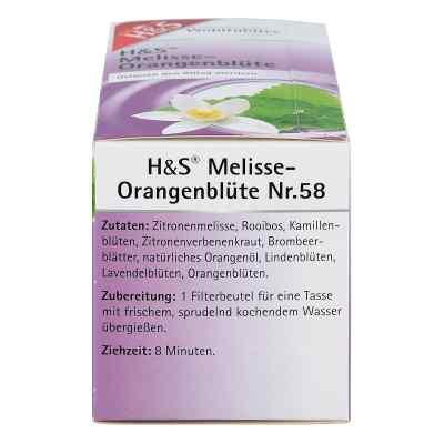 H&S herbata w saszetkach melisa i kwiat pomarańczy  zamów na apo-discounter.pl