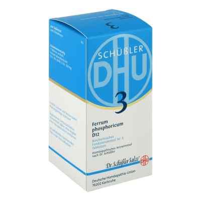 Biochemie DHU Nr3 fosforan żelaza tabletki D12  zamów na apo-discounter.pl