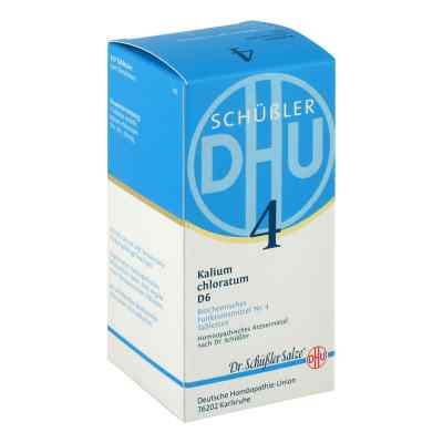 Biochemie DHU sól Nr.4 Chlorek potasu D6, tabletki  zamów na apo-discounter.pl