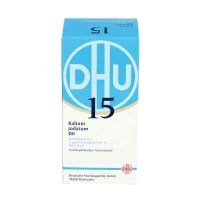 Biochemie Dhu 15 Kalium jodatum D 6 w tabletkach  zamów na apo-discounter.pl
