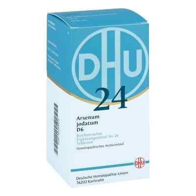 Biochemie Dhu 24 Arsenum jodatum D 6 Tabl.  zamów na apo-discounter.pl